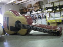 Custom Inflatable Advertising Custom Inflatable Advertising guitar inflatable