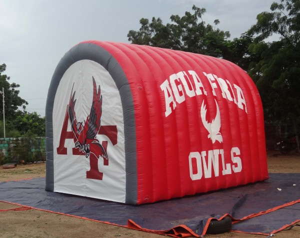 Sports Inflatables Advertising Sports Inflatables 15ft Football Tunnel