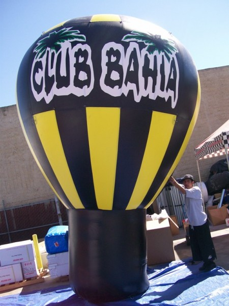 Roof-Top Balloon for Grand Opening