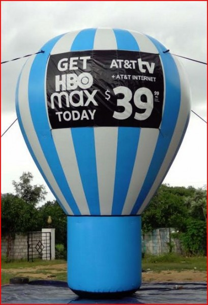 Advertising Balloons Inflatable Advertising Ballons AT&T Advertising Balloon