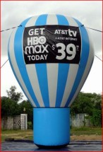 Advertising Balloons Inflatable Advertising Ballons AT&T Advertising Balloon