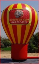 Advertising Balloons Inflatable Advertising Ballons Dental Office Advertising Balloon