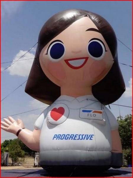 Custom Inflatable Advertising Custom Inflatable Advertising Progressive Insurance Inflatable