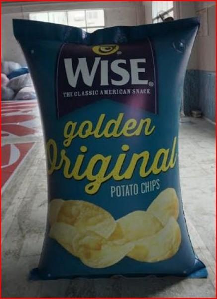 Custom Inflatable Advertising Custom Inflatable Advertising Potato Chip Bag Inflatable