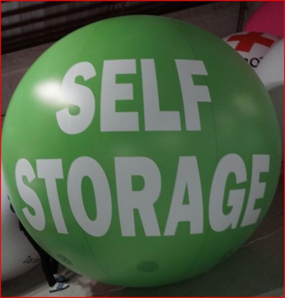 Inflatable Spheres Inflatable Advertising Spheres Self Storage Sphere