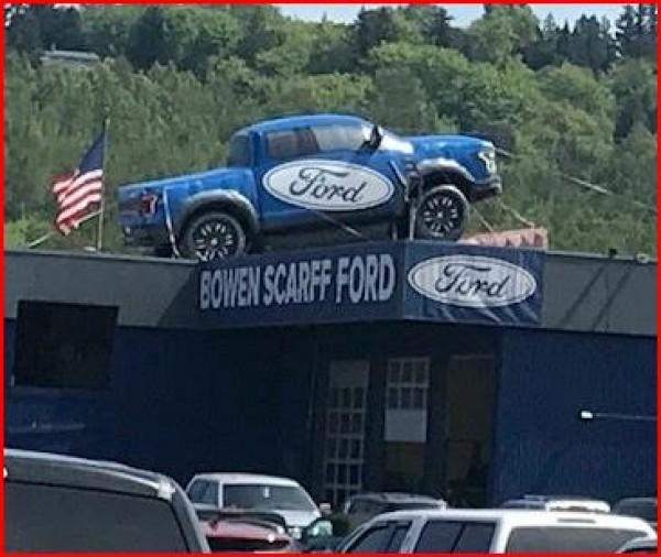 Custom Inflatable Advertising Custom Inflatable Advertising Ford Truck Inflatable