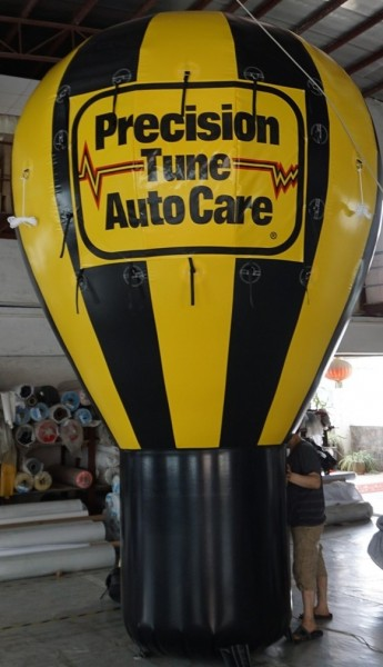 Oil Change Advertising Balloon