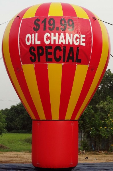 Oil Change Balloon