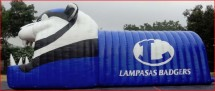 Sports Inflatables Advertising Sports Inflatables texas football tunnel