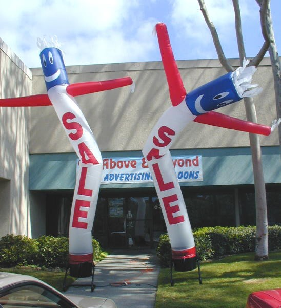 Sky Dancer and Blow Up Advertising Man Inflatables for Business