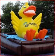 Custom Inflatable Advertising Custom Inflatable Advertising Hot Spring Duck Inflatable