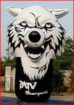 Custom Inflatable Advertising Custom Inflatable Advertising Wolf Inflatable