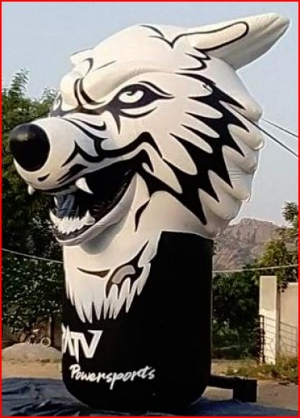 Custom Inflatable Advertising Custom Inflatable Advertising Wolf Balloon